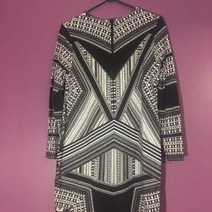 H&M Black 3/4 Sleeve Dress